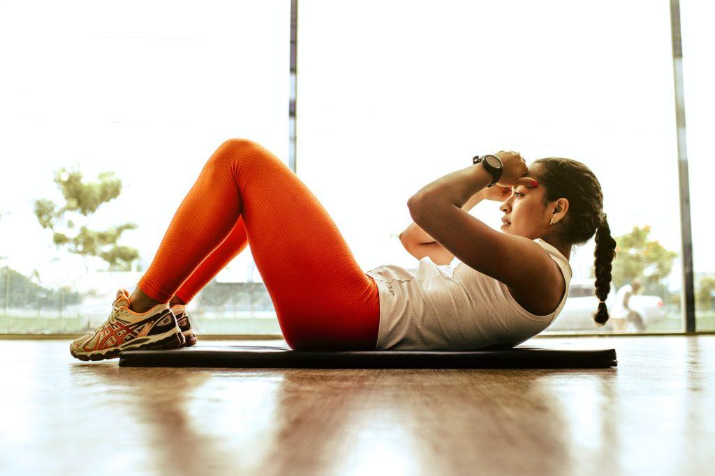 Workout indoor mat