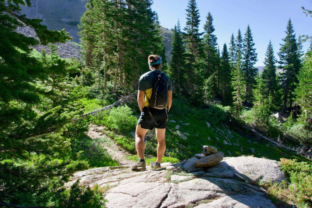 Trail running hydration